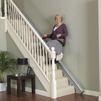 Rovná schodišťová sedačka