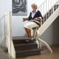 Točitá schodišťová sedačka